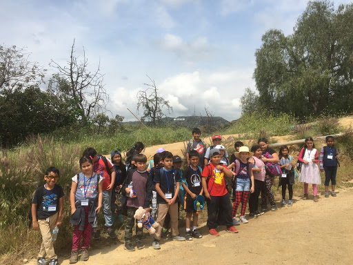 Hiking in Griffith Park with Vanalden Elementary School